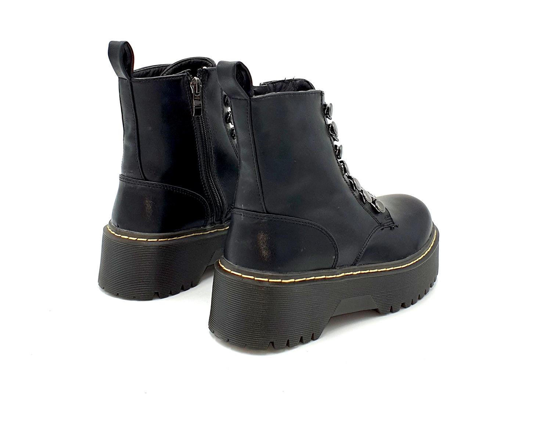 MUSTANG NAOMI NEGRO Zacaris zapatos online.